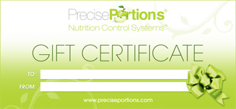 Gift Certificate Precise Portions