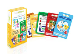 52 Show 'N Tell Nutrition Flash Cards for Kids
