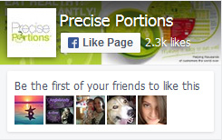 precise portions facebook click to like