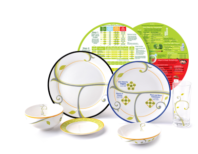 lifestyle porcelain plates for natural weight loss